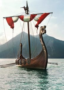 vikingos barcos